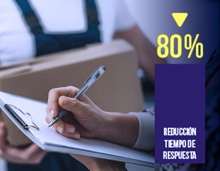 Programa Demand Driven Planner logra una reducción del tiempo de respuesta con tu cliente y mercado.