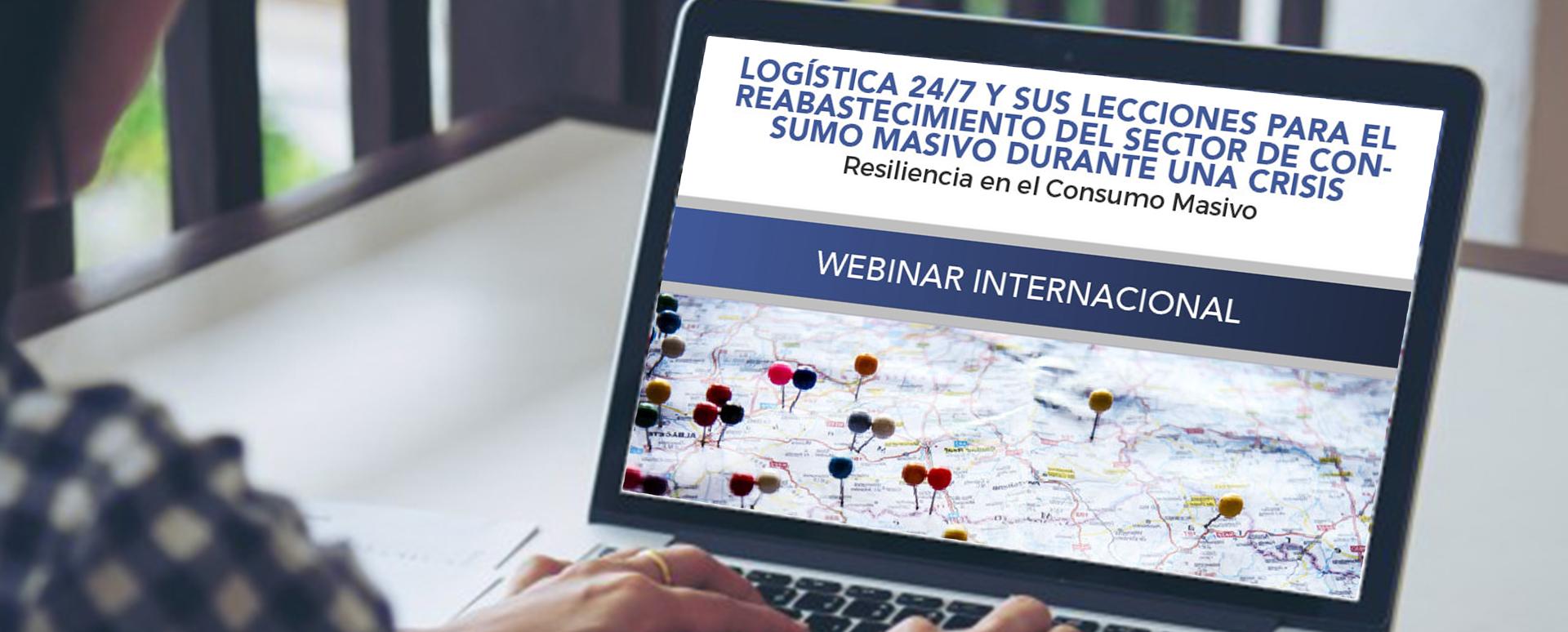 webinar logística para Industrias del Consumo Masivo