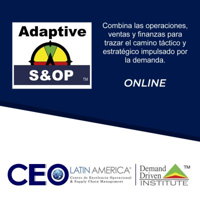 Adaptive S&OP